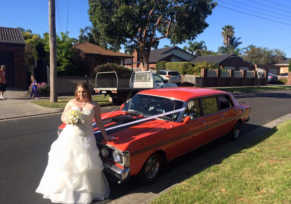 Wedding GT Limo Hire – Southern Golf Club Dingley